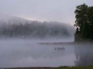 Early Morning Mist, Lake Eden