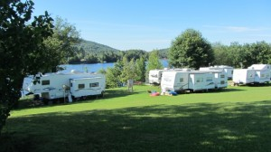 Upper RV Camping Area